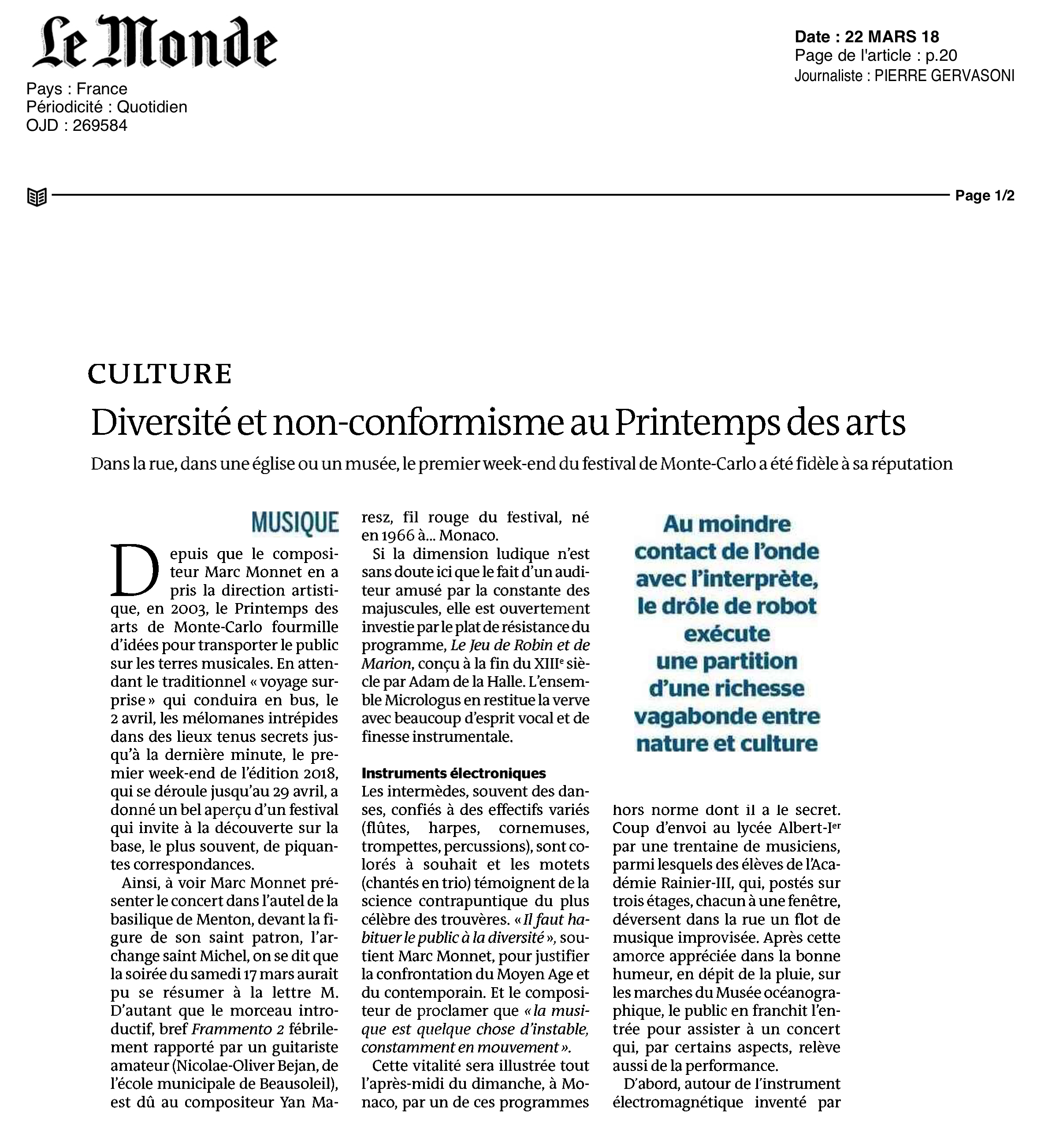 © Le Monde